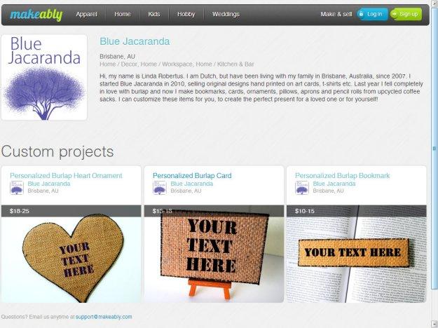 Blue Jacaranda on Makeably, the home for custom creativity - Google Chrome 14122012 35726 PM